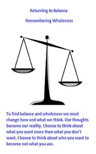 BalanceWholeness